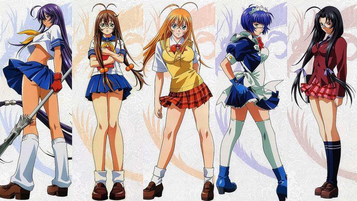 Ikki Tousen – Extreme Fan Service Ecchi Anime